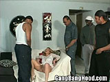 Blonde MILF Meets Black Gang
