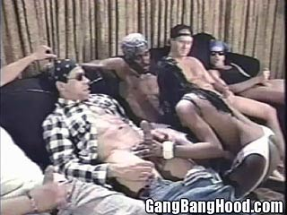 Thugs Serviced by Ebony Chick
