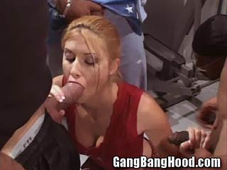 Melissa ghetto gang bang