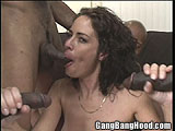 Amber White Wife Interracial Gang Bang